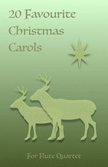 20 Favourite Christmas Carols for Flute Quartet