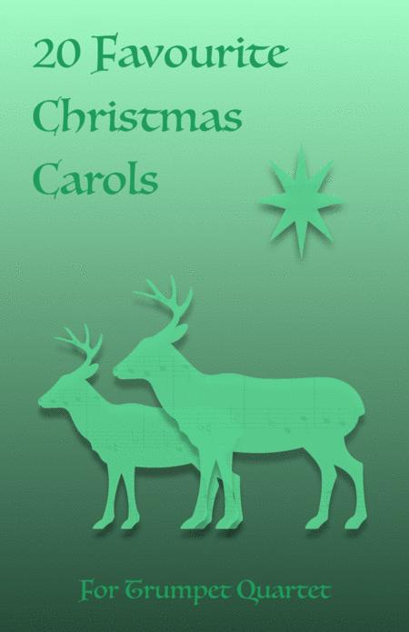 20 Favourite Christmas Carols for Trumpet Quartet