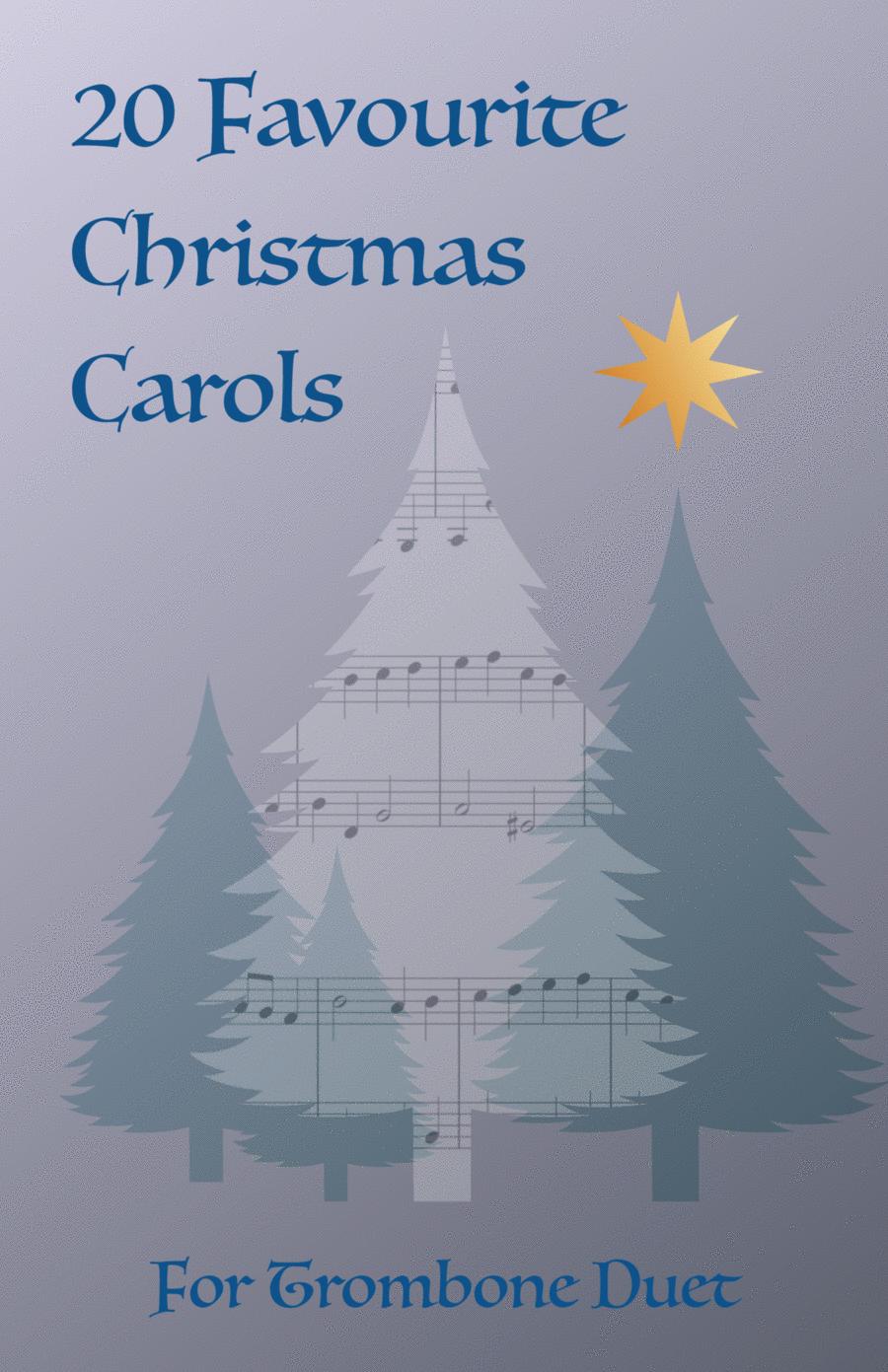20 Favourite Christmas Carols for Trombone Duet