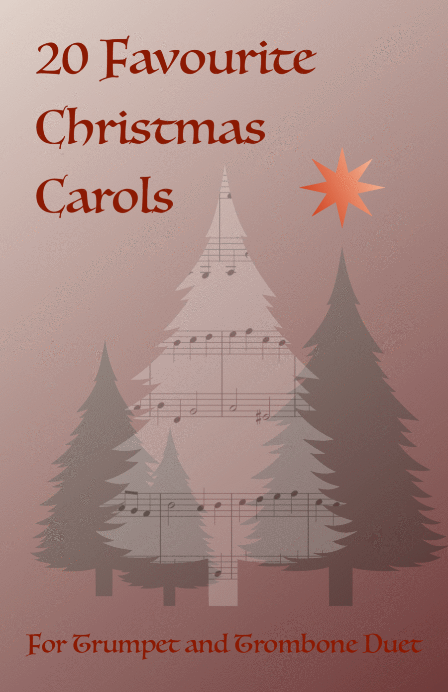 20 Favourite Christmas Carols for Trumpet and Trombone Duet