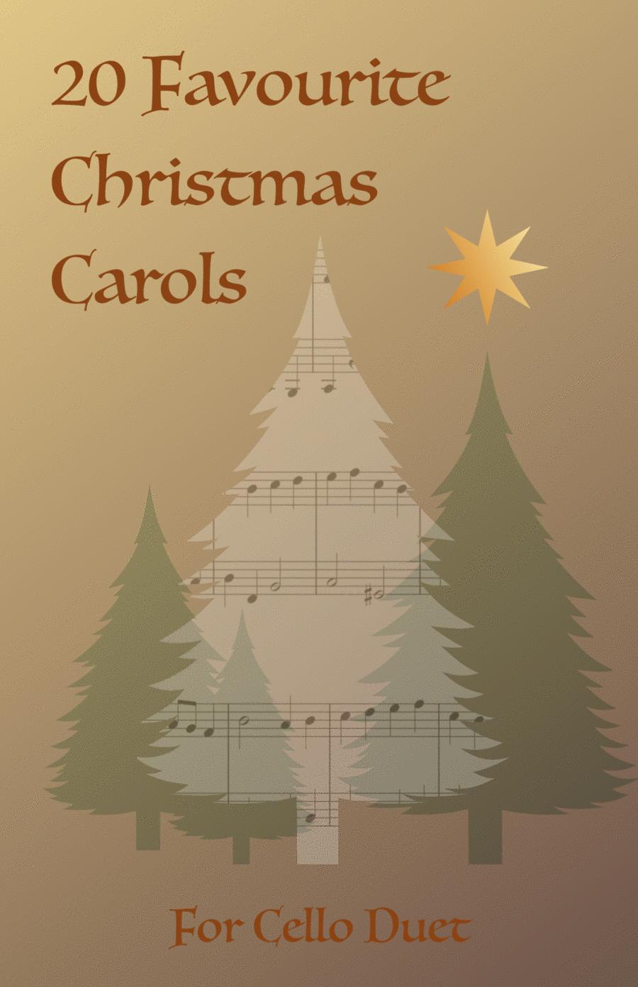 20 Favourite Christmas Carols for Cello Duet