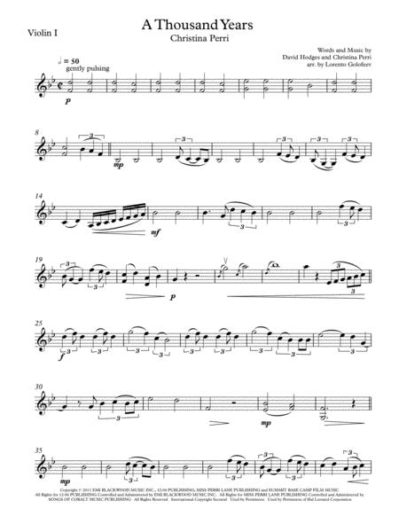 A Thousand Years String Duo-Trio-Quartet