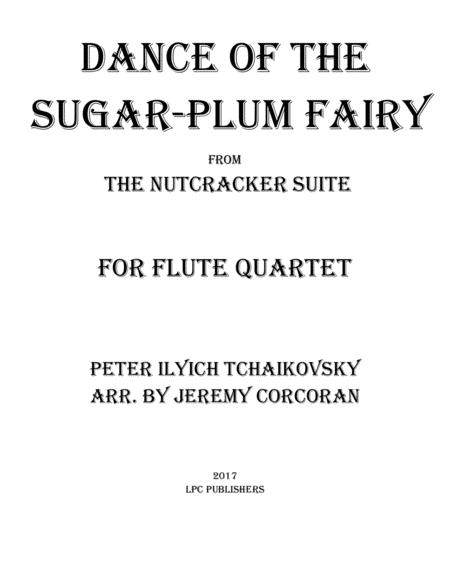 Dance of the Sugar-Plum Fairy for Flute Quartet