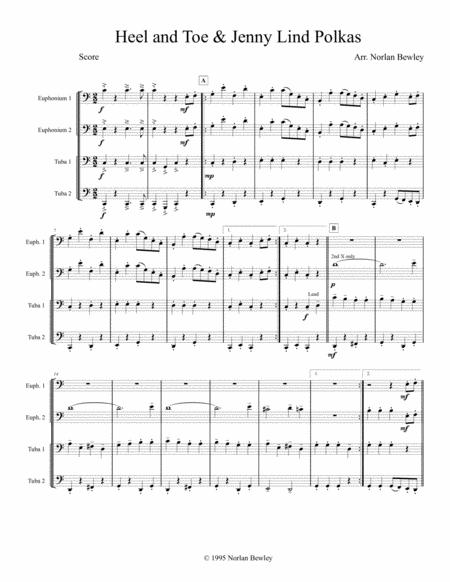 Heel and Toe/Jenny Lind Polkas - Tuba/Euphonium Quartet