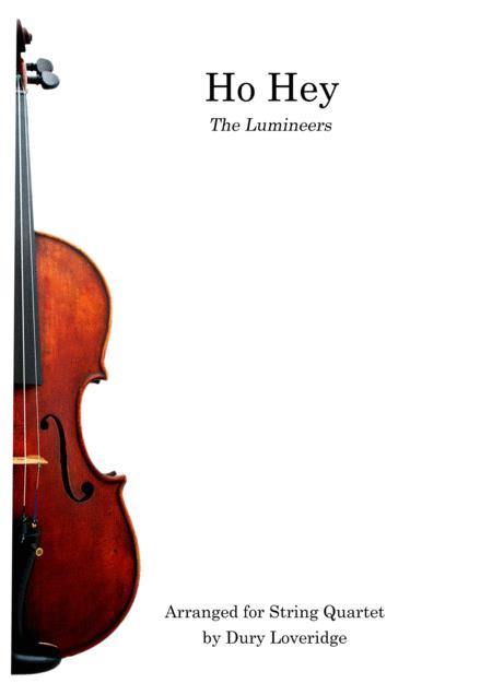 Ho Hey - Lumineers for String Quartet