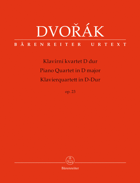 Piano Quartet in D major op. 23