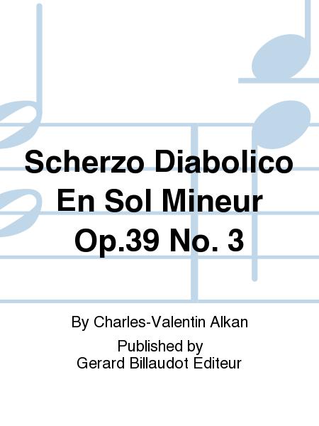 Scherzo Diabolico En Sol Mineur Op.39 No. 3