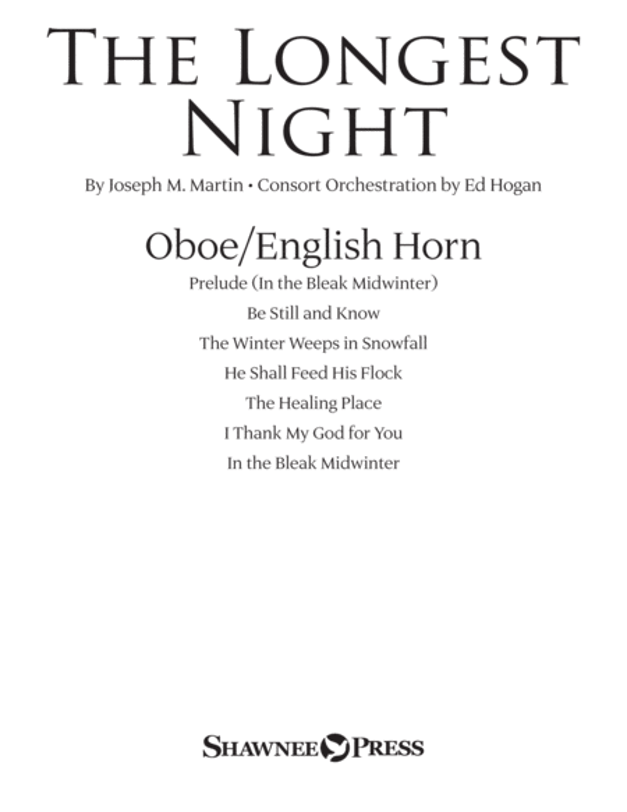 The Longest Night - Oboe/English Horn