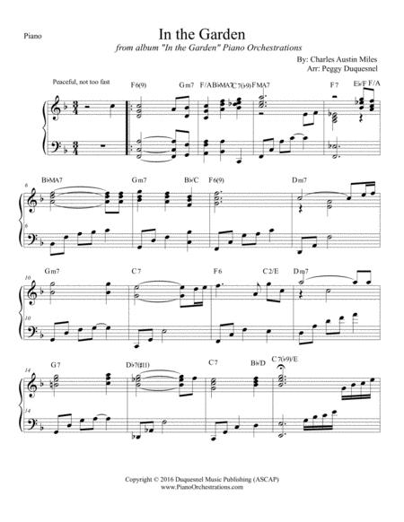 In the Garden (Solo Piano)