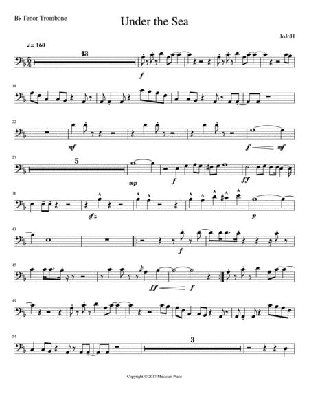 Under the Sea - Bb Tenor Trombone
