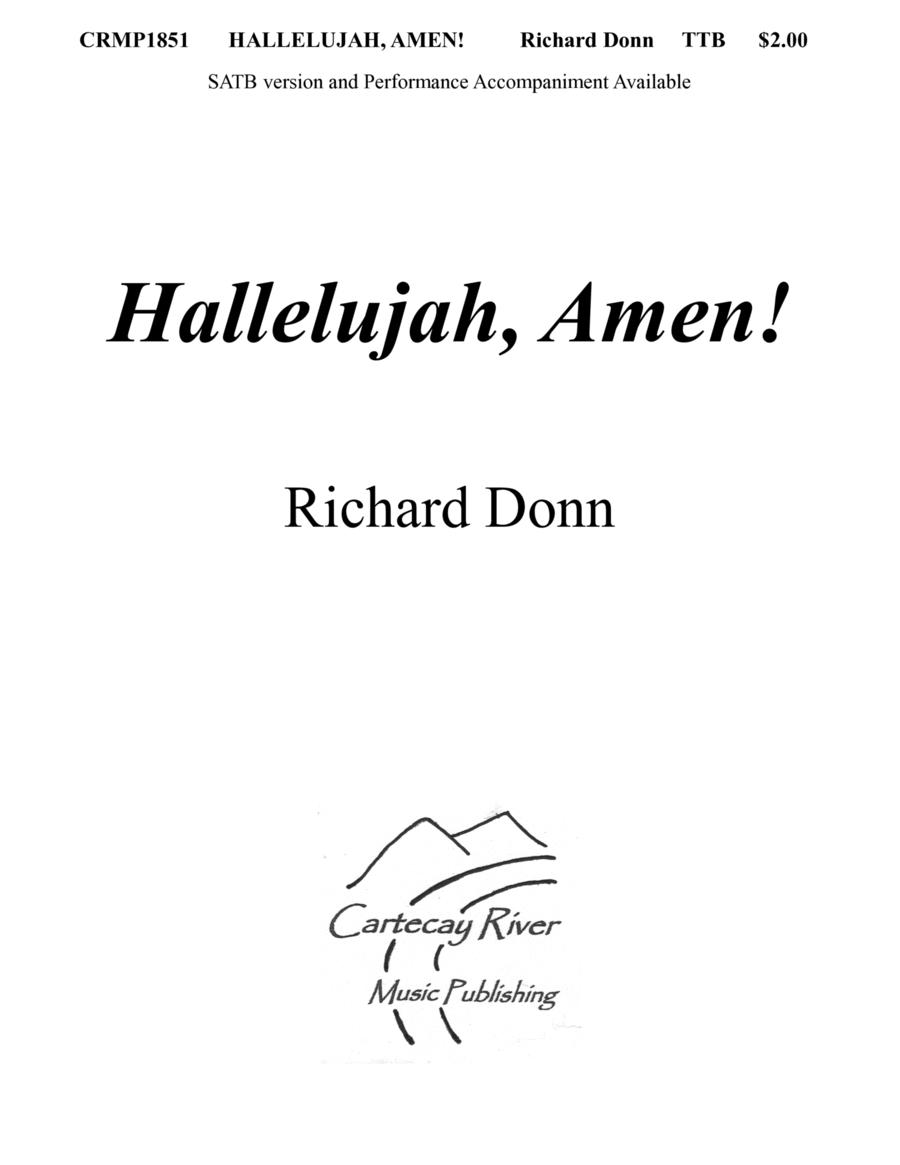 HALLELUJAH, AMEN! (TTB)