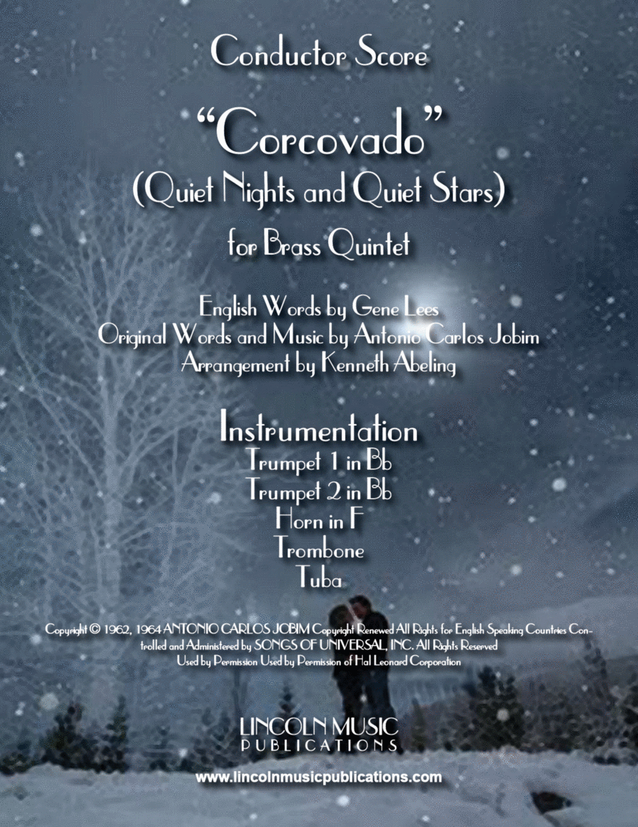 Quiet Nights and Quiet Stars (Corcovado) (for Brass Quintet)
