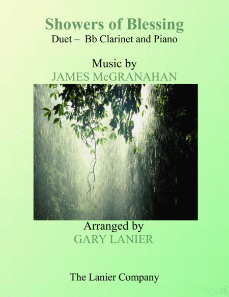 SHOWERS OF BLESSING (Duet – Bb Clarinet & Piano with Score/Part)