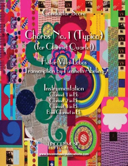 Heitor Villa-Lobos - Chôro No. 1 (Typico) (for Clarinet Quartet)