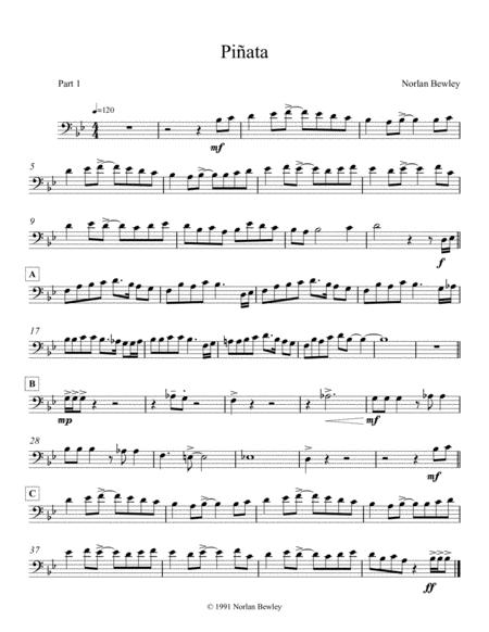 Pinata - Low Brass Trio