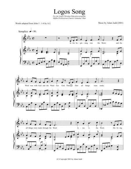 LOGOS Song (Unison Treble)