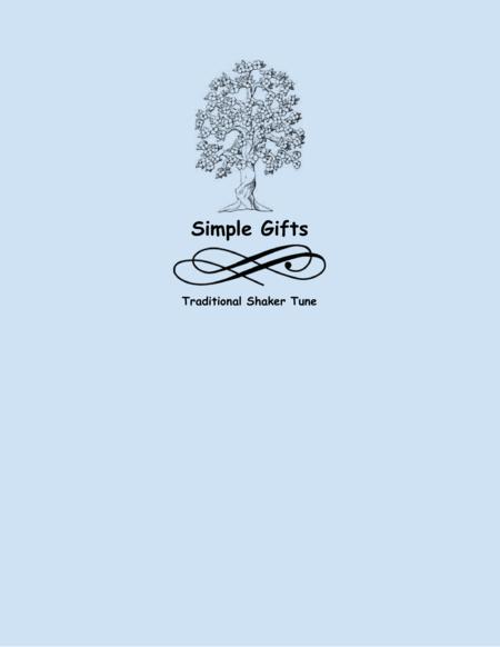 Simple Gifts (Flute Choir)