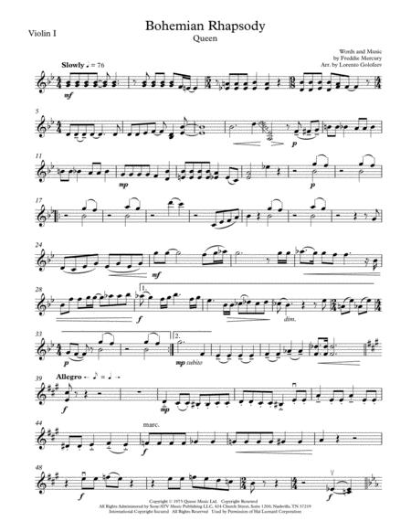 Bohemian Rhapsody - String Quartet