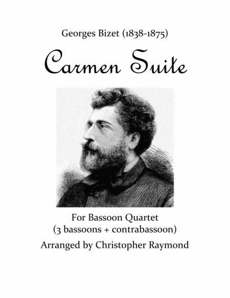 Carmen Suite - for bassoon quartet
