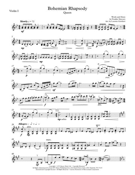 Bohemian Rhapsody - String Trio