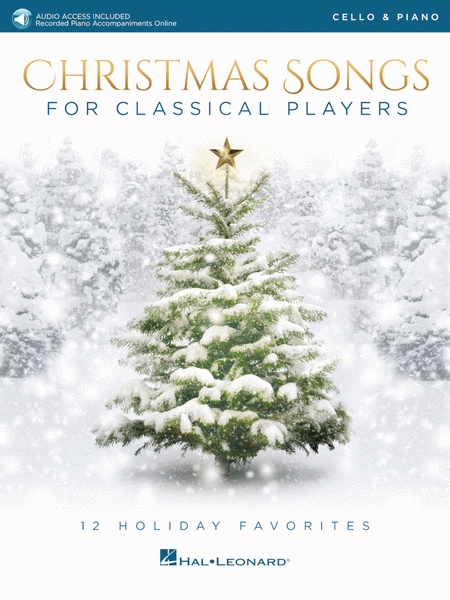 Christmas Songs for Classical Players - Cello and Piano