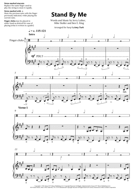 Stand By Me - Harp Solo