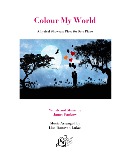Colour My World for Solo Piano