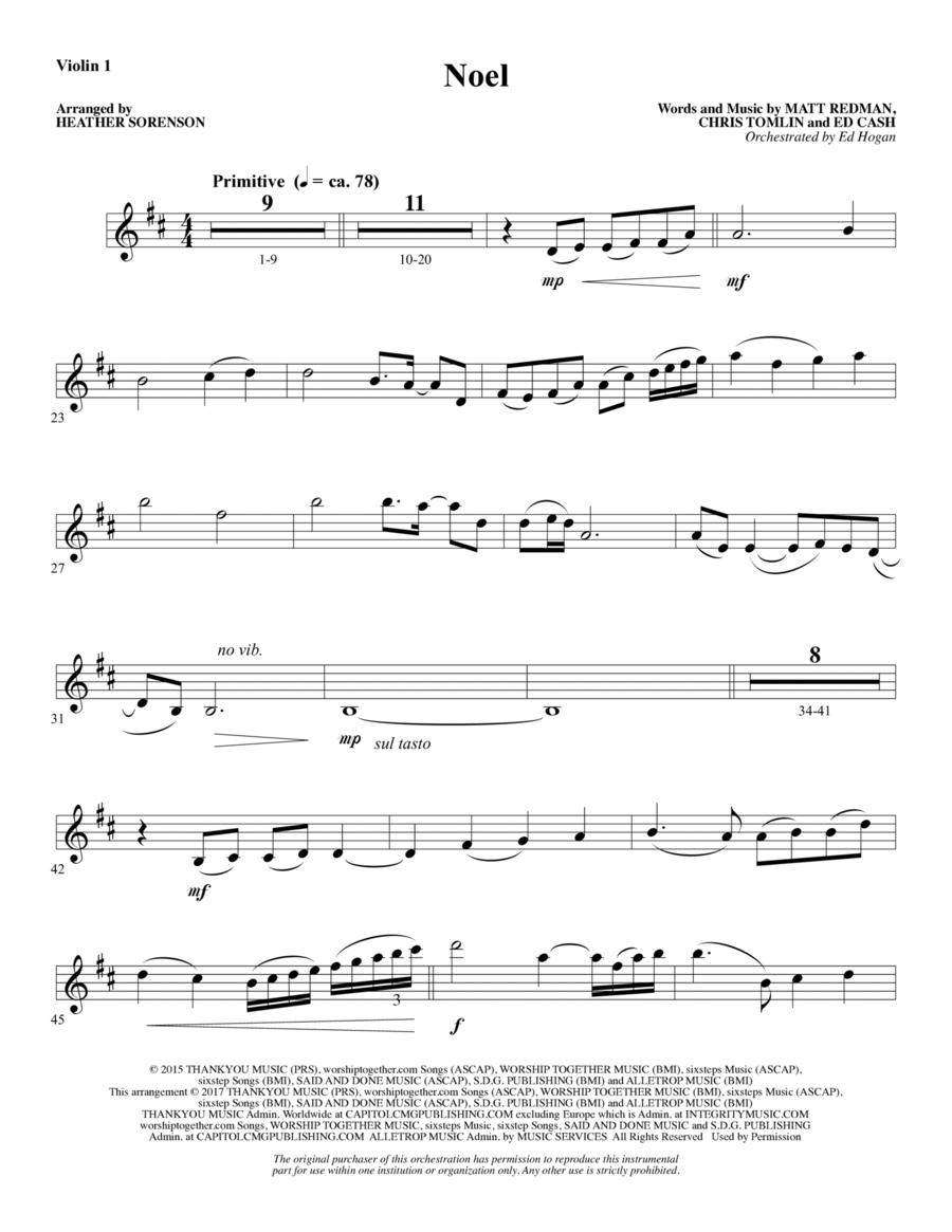 Noel - Violin 1