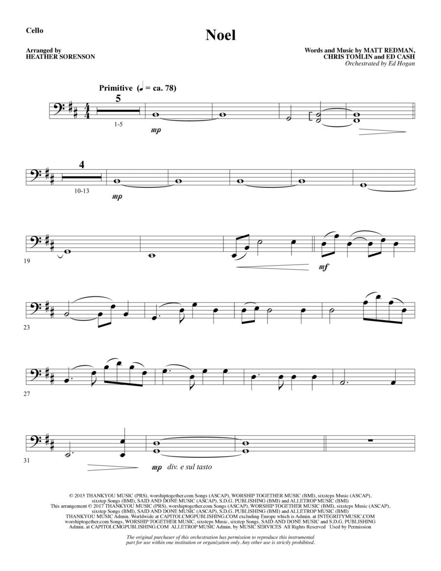 Noel - Cello