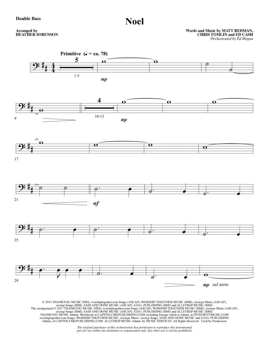 Noel - Double Bass
