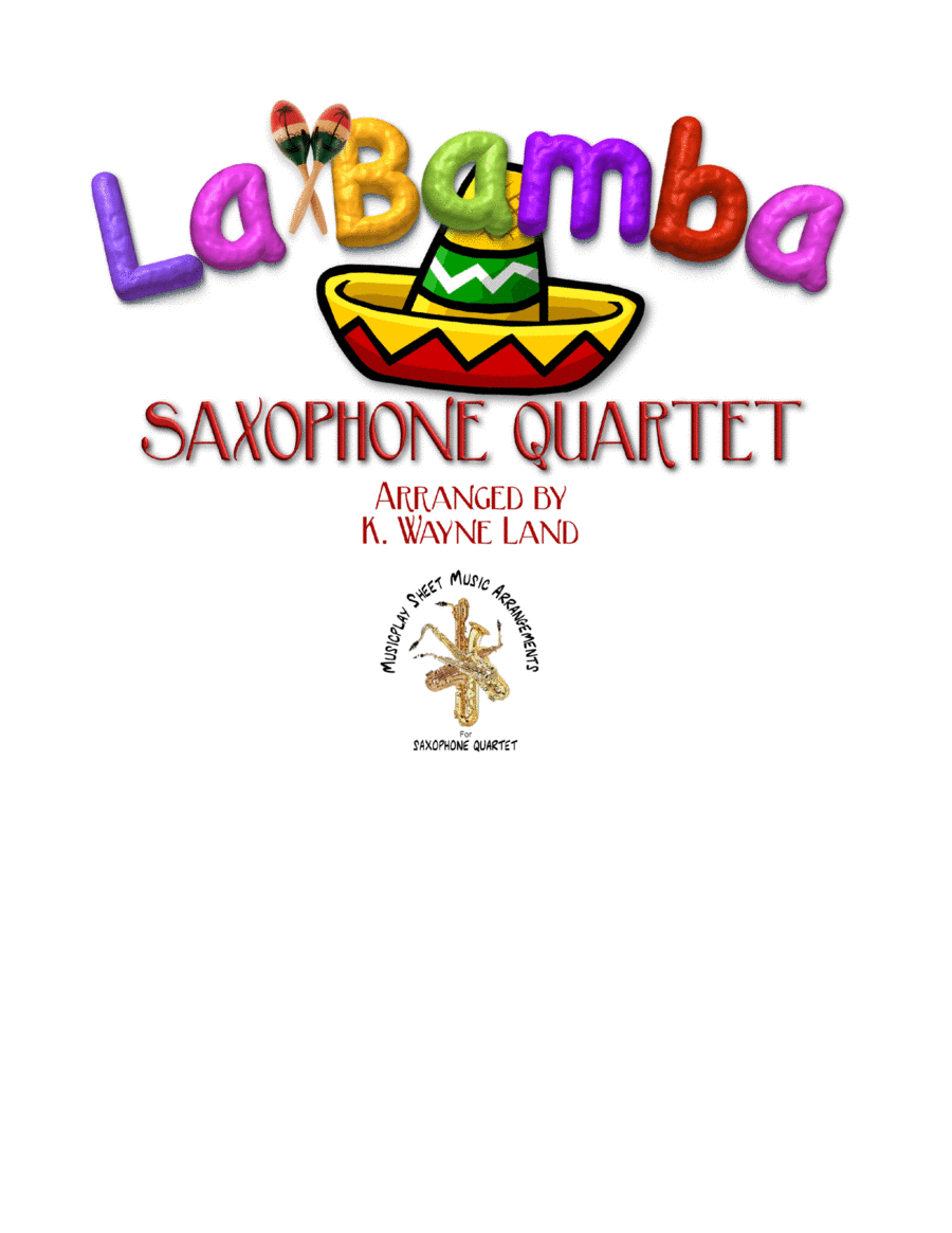 La Bamba  (Sax Quartet)