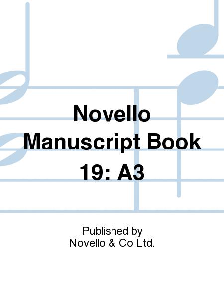 Novello Manuscript Book 19: A3