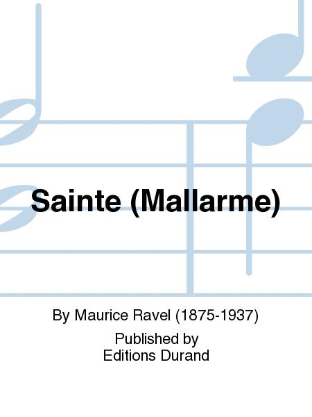 Sainte (Mallarme)