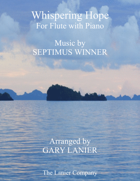 WHISPERING HOPE (Duet – Flute & Piano with Score/Part)