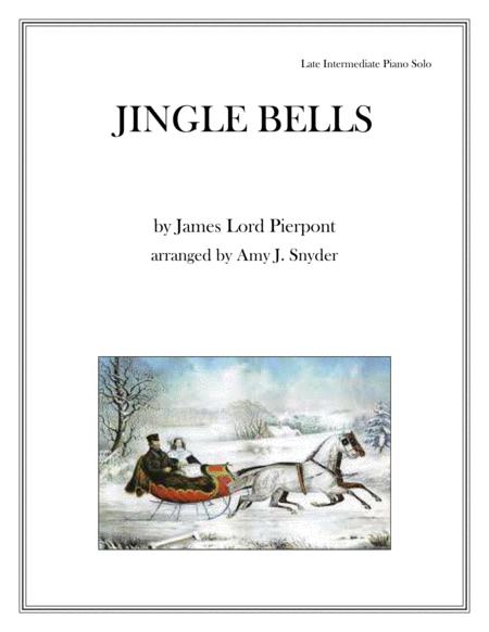 Jingle Bells, piano solo