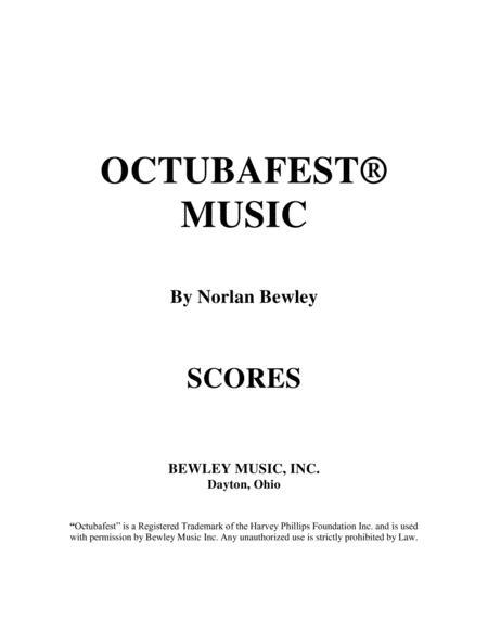 Octubafest Music Score Book - Tuba/Euphonium Quartet