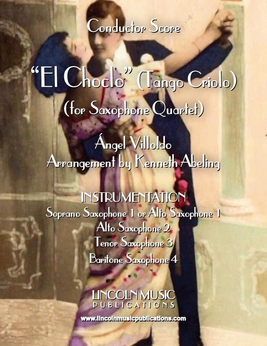 El Choclo (Tango) (for Saxophone Quartet SATB or AATB)
