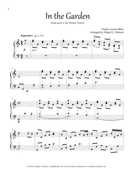 In the Garden (Beautiful Piano Solo)
