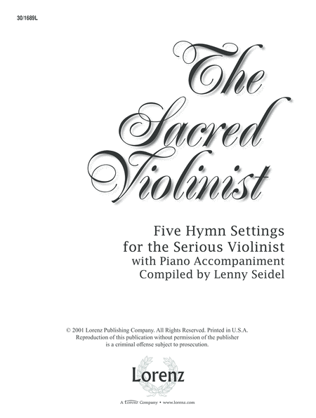 The Sacred Violinist