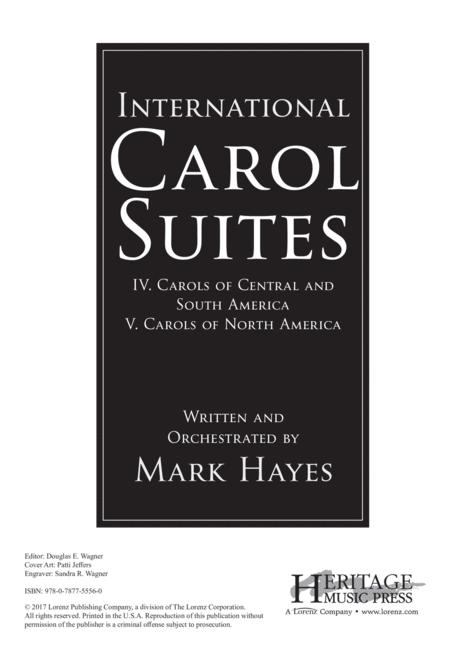 International Carol Suites: Carols of the Americas