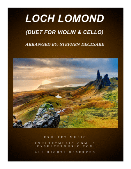 Loch Lomond (Duet for Violin and Cello)