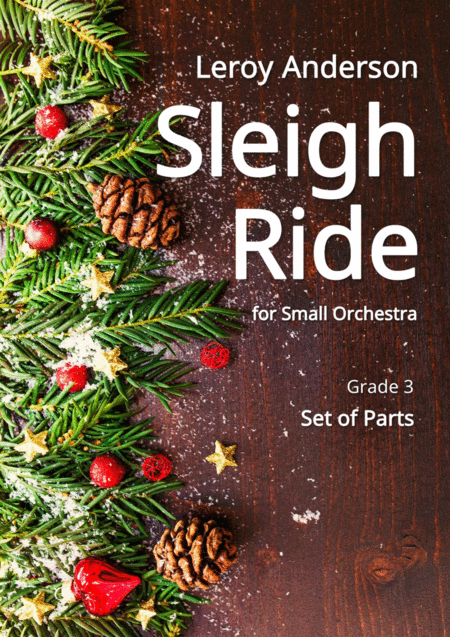 Sleigh Ride for Small Orchestra - Complete Parts