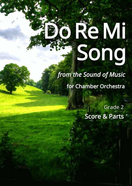 Do-Re-Mi Song for Chamber Orchestra - Score and Parts