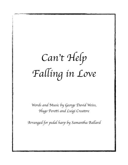 Can't Help Falling In Love - Harp Solo