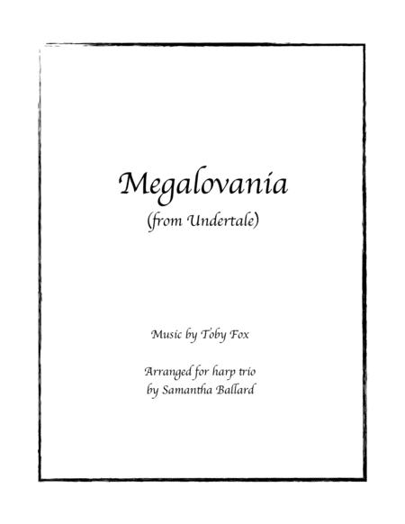 MEGALOVANIA (from Undertale) - Harp Trio Arrangement