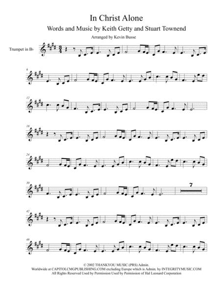 In Christ Alone - Trumpet