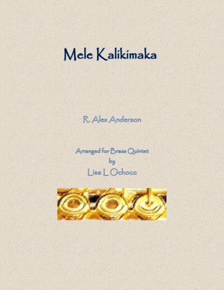 Mele Kalikimaka for Brass Quintet