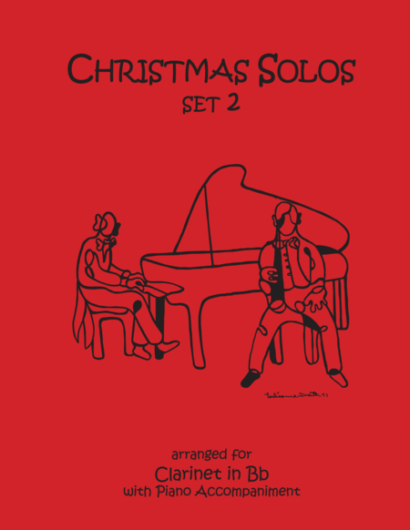 Christmas Solos for Clarinet & Piano Set 2