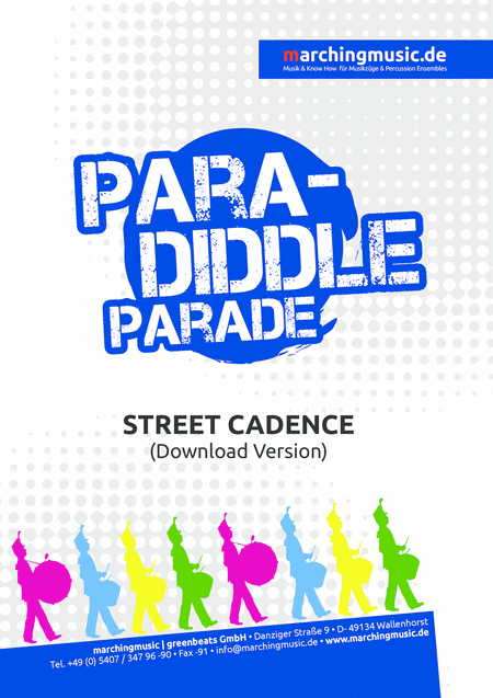 PARADIDDLE PARADE Street Cadence