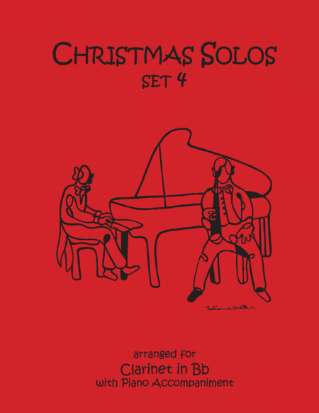 Christmas Solos for Clarinet & Piano Set 4